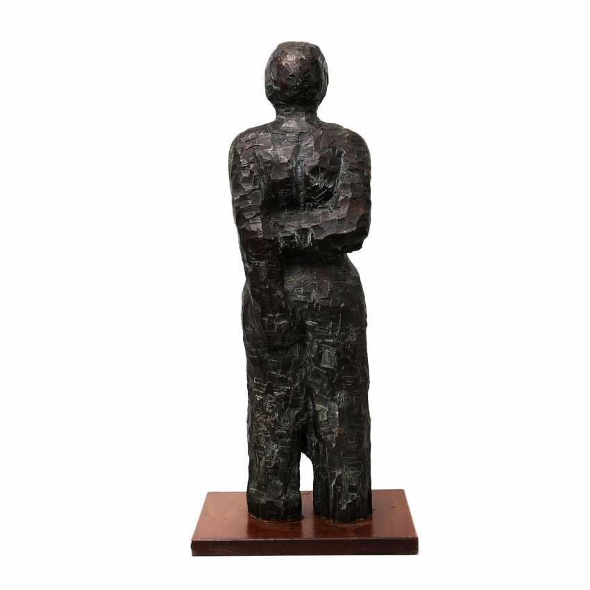 "MAHRINGER, BERTHOLD (born. In 1950, Bergisch Gladbach, Germany), ""The Female Half Nude"", Bronze, - photo 4"