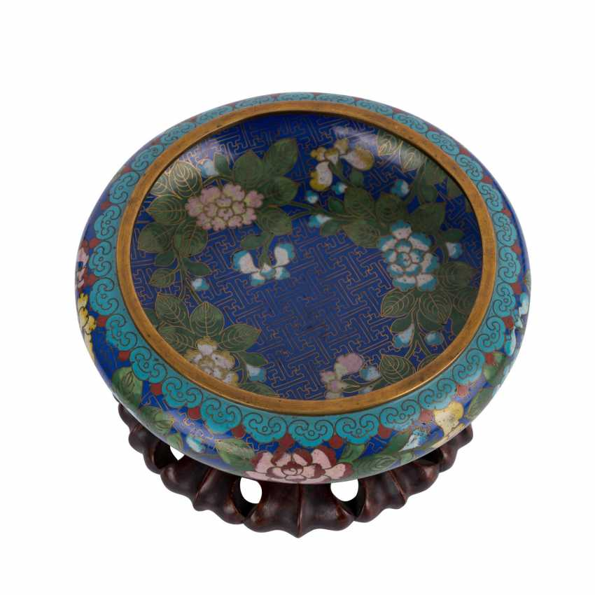 Cloisonné Bowl. CHINA, 1. Half of the 20. Century. - photo 3