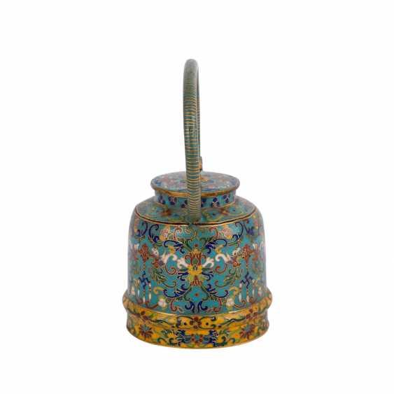 Small Cloisonné Teapot. CHINA, 19. Century - photo 4