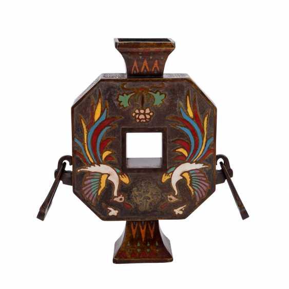 Vase made of Bronze. CHINA, 1. Half of the 20. Century. - photo 2