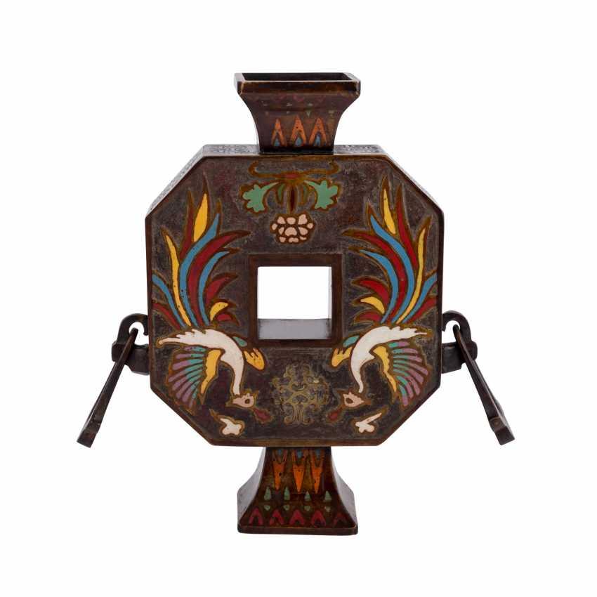 Vase made of Bronze. CHINA, 1. Half of the 20. Century. - photo 4
