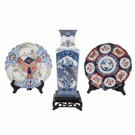 Group of Export porcelains: 9 parts of CHINA and JAPAN, 19.-20. Century. - photo 2