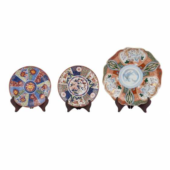 Group of Export porcelains: 9 parts of CHINA and JAPAN, 19.-20. Century. - photo 3