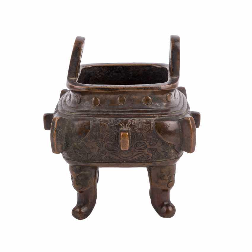 Incense burner made of Bronze. JAPAN, 19. Century - photo 1