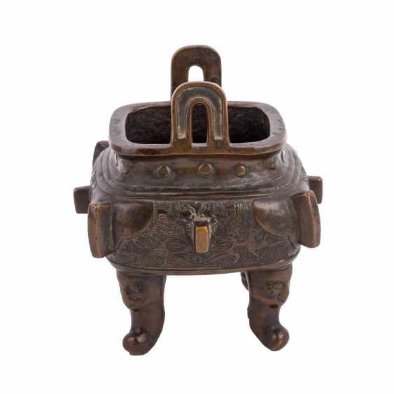 Incense burner made of Bronze. JAPAN, 19. Century - photo 2