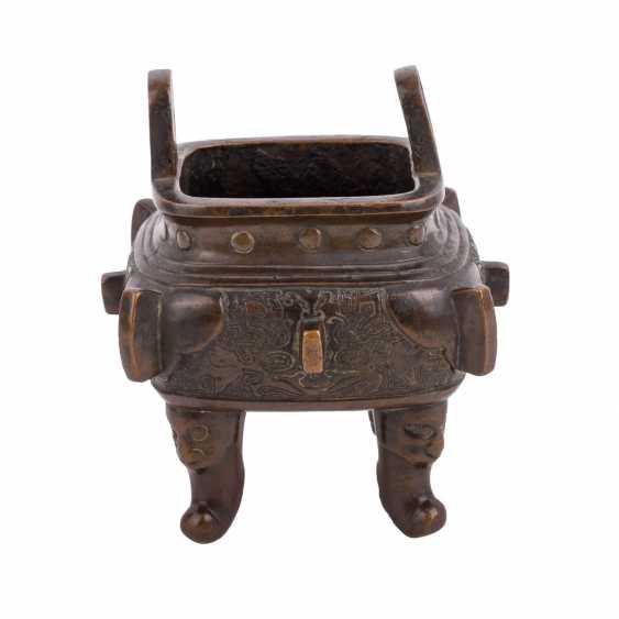 Incense burner made of Bronze. JAPAN, 19. Century - photo 3