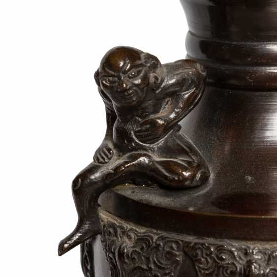 Vase made of Bronze. JAPAN, 19. Century. - photo 6