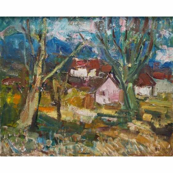 "SCHOBER, PETER JAKOB (1897-1983) ""spring landscape"" - photo 1"