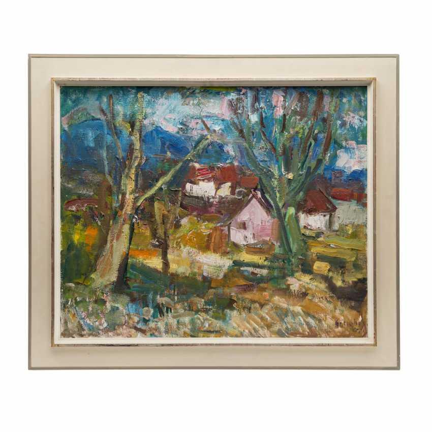 "SCHOBER, PETER JAKOB (1897-1983) ""spring landscape"" - photo 2"