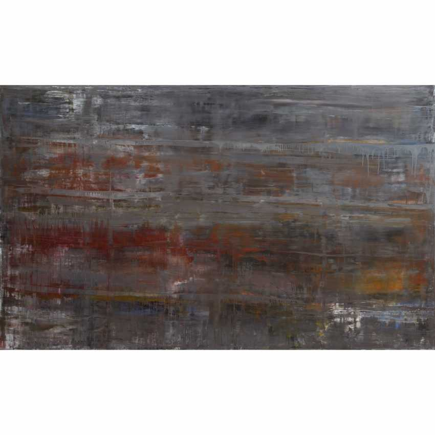 """SCHLESINGER, HOLGER (artists 20./21. Century), """"Abstract Composition"""", - photo 1"""