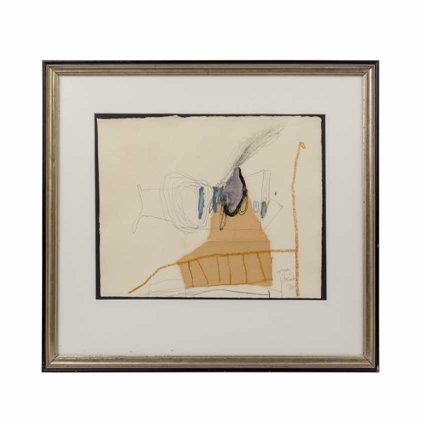 """STEINERT, HANNES (born. In 1954, Stuttgart), """"Abstract Composition"""", - photo 1"""