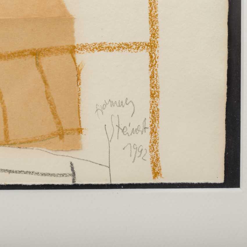 """STEINERT, HANNES (born. In 1954, Stuttgart), """"Abstract Composition"""", - photo 2"""