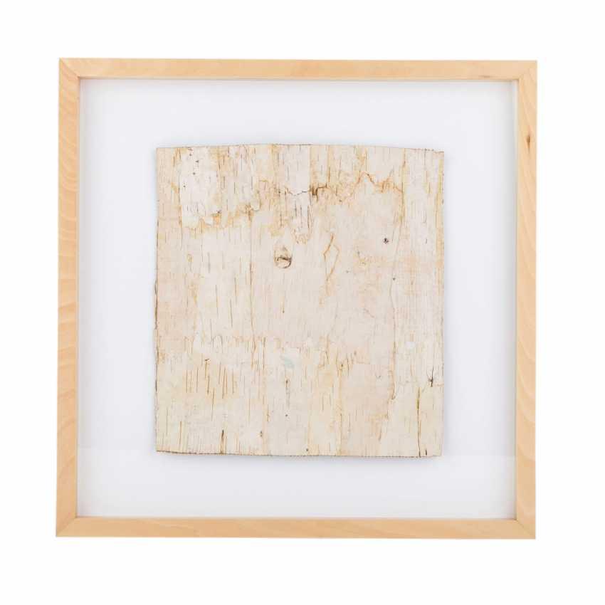 """KORNELSON, HEATHER (nee. In 1946, Salzburg), """"Birch Bark"""", - photo 2"""
