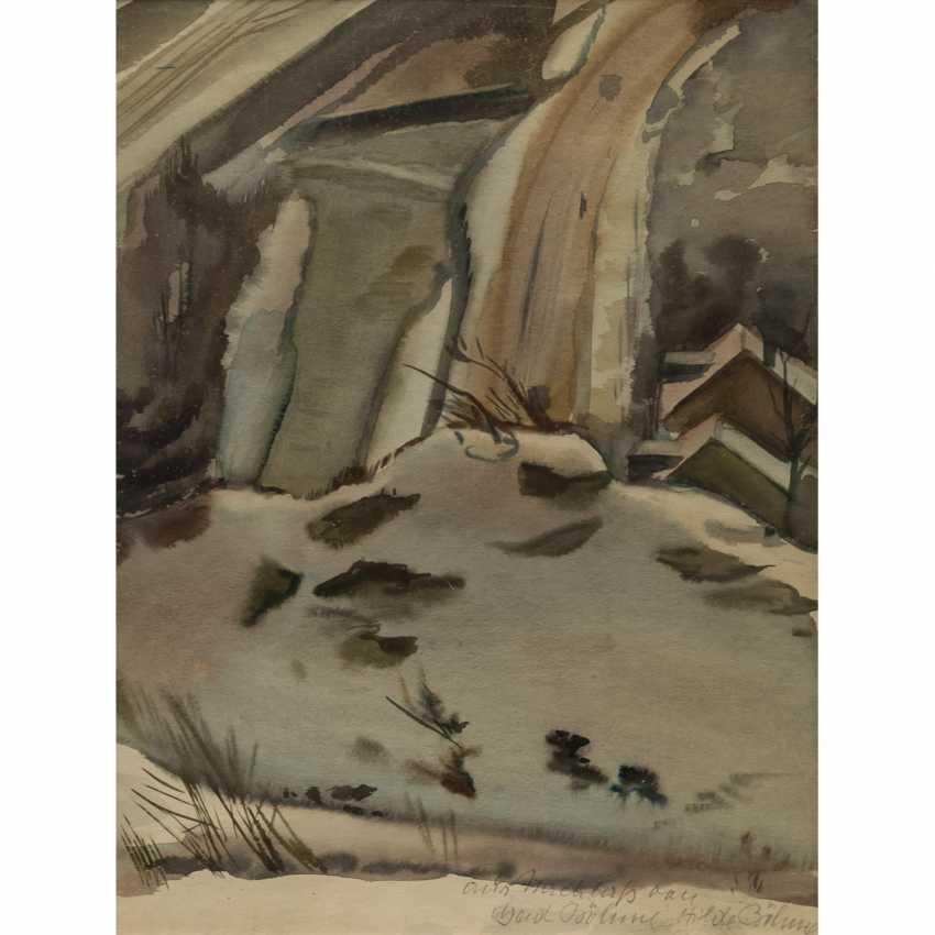 "BÖHME, GERD (1899-1978), ""winter landscape"", - photo 1"