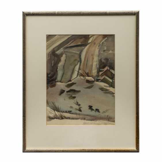"BÖHME, GERD (1899-1978), ""winter landscape"", - photo 2"
