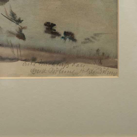 "BÖHME, GERD (1899-1978), ""winter landscape"", - photo 3"
