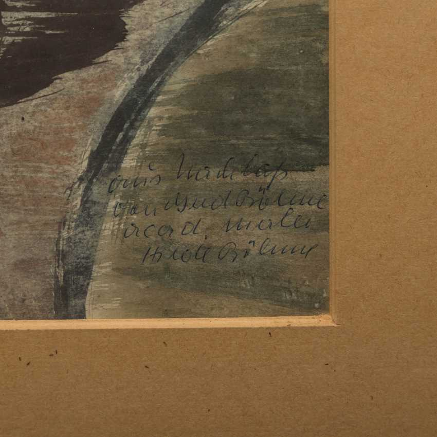 "BÖHME, GERD (1899-1978), ""still life with bottle, jug and fruit"", - photo 3"