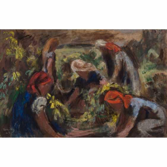 """ILLG / ILLZ?, TONI (artist 20. Century), """"women in work"""", - photo 1"""
