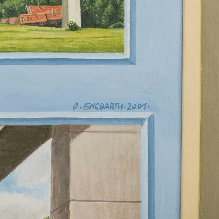 "ENGBARTH, OTTO (geb. 1935), ""Place + Bridge"", - photo 3"