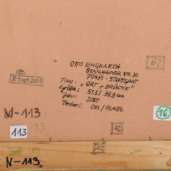 "ENGBARTH, OTTO (geb. 1935), ""Place + Bridge"", - photo 5"