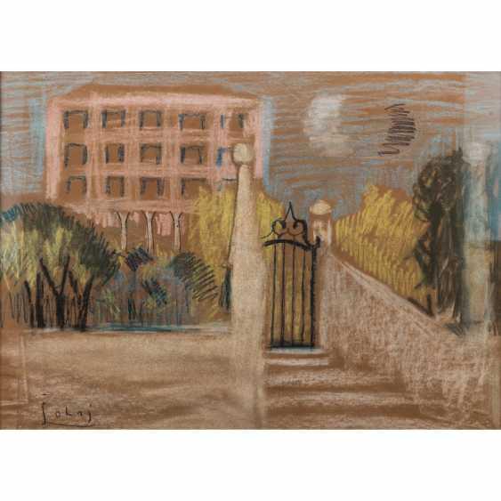 """SOHAJ, SLAVKO (1908-2003), """"house in the Park"""", - photo 1"""