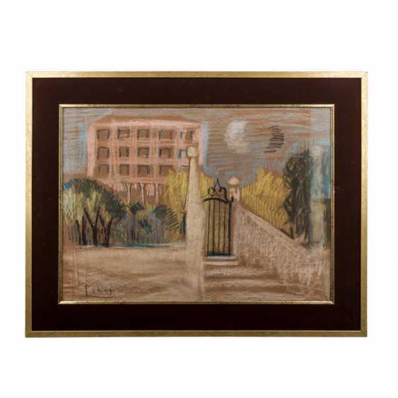"""SOHAJ, SLAVKO (1908-2003), """"house in the Park"""", - photo 2"""