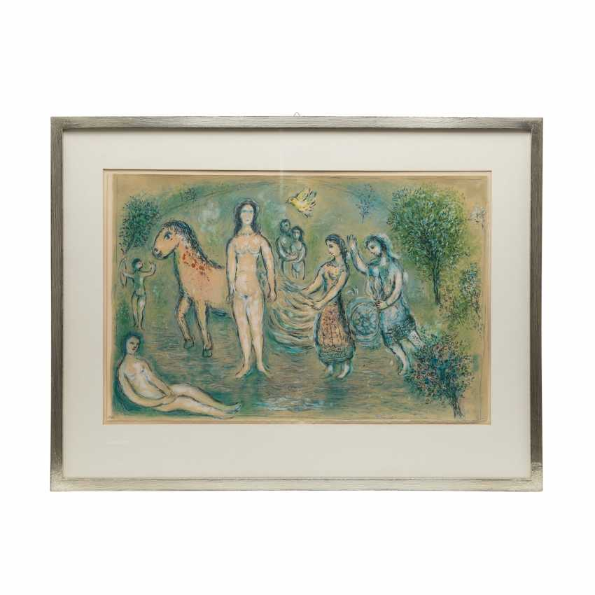 """CHAGALL, MARC (1887-1985) """"Ulysses before Nausicaa from The Odyssey"""" - photo 2"""