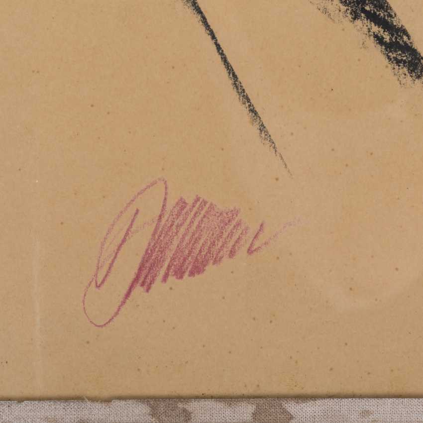 "BAUMEISTER, WILLI (1889 - 1955, Professor), ""signature of the artist"", - photo 2"