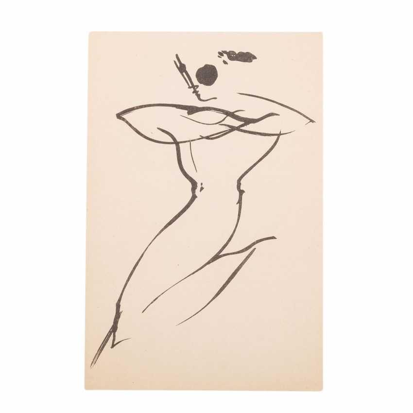 "SCHLEMMER, Oskar, AFTER (O. S.: 1888-1943), ""Swinging character"", - photo 1"