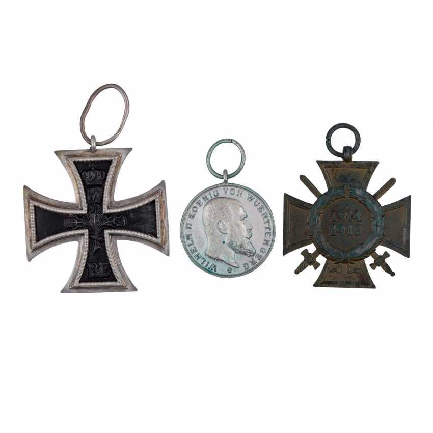 Württemberg WK I - Iron cross 2. Class of 1914, - photo 1