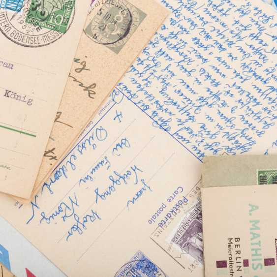Approximately 100 letters and cards, from the high inflation of 1923 - photo 3
