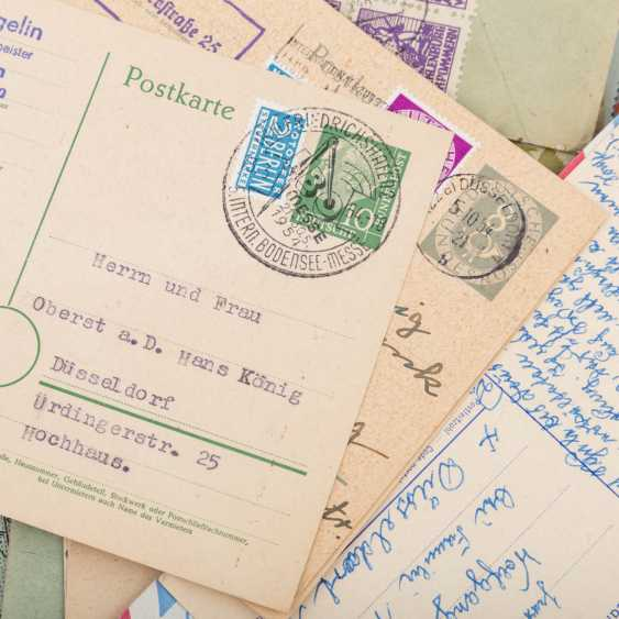 Approximately 100 letters and cards, from the high inflation of 1923 - photo 4