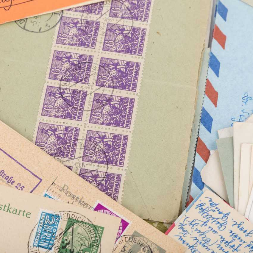 Approximately 100 letters and cards, from the high inflation of 1923 - photo 5