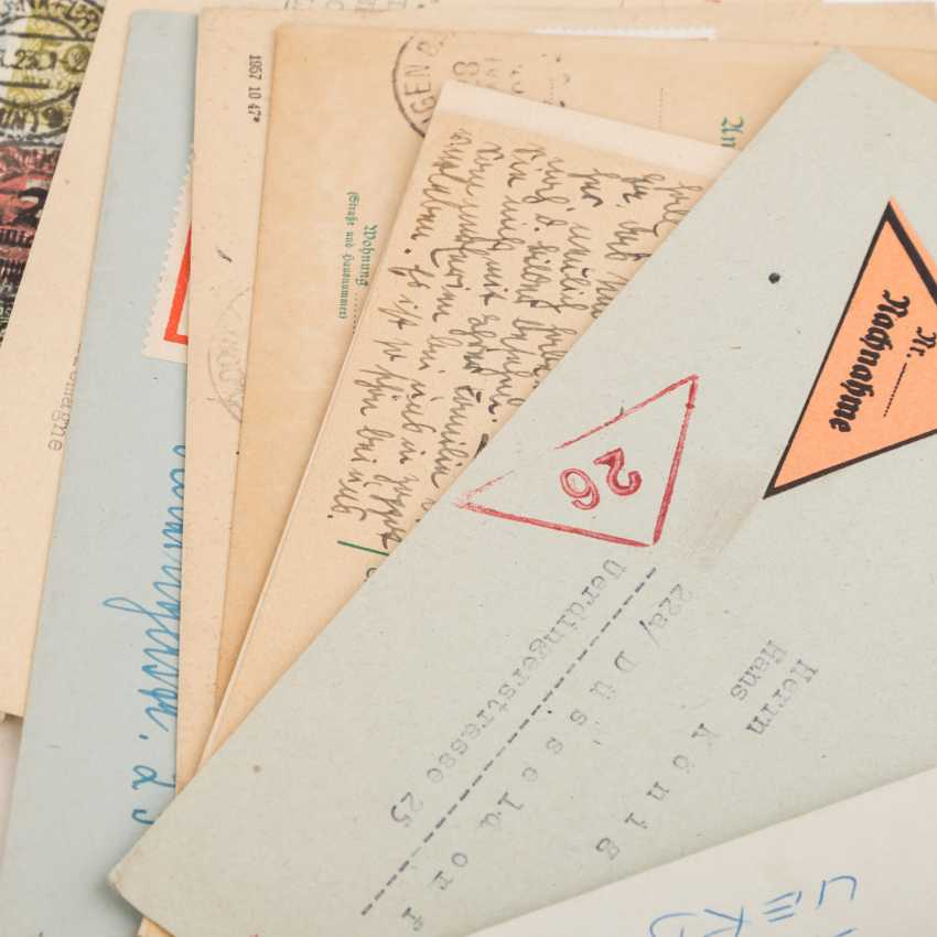 Approximately 100 letters and cards, from the high inflation of 1923 - photo 6