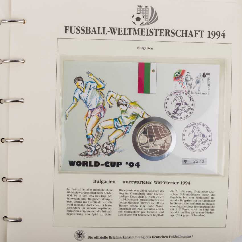 Theme of football world Cup in 1994, official collection - photo 2