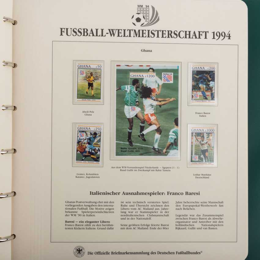 Theme of football world Cup in 1994, official collection - photo 5