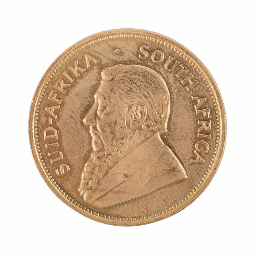 Gold solder approximately 86.3 g fine with 2 x 1 oz Krugerrand 1979, - photo 2