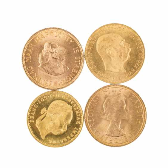 Gold solder approximately 86.3 g fine with 2 x 1 oz Krugerrand 1979, - photo 3