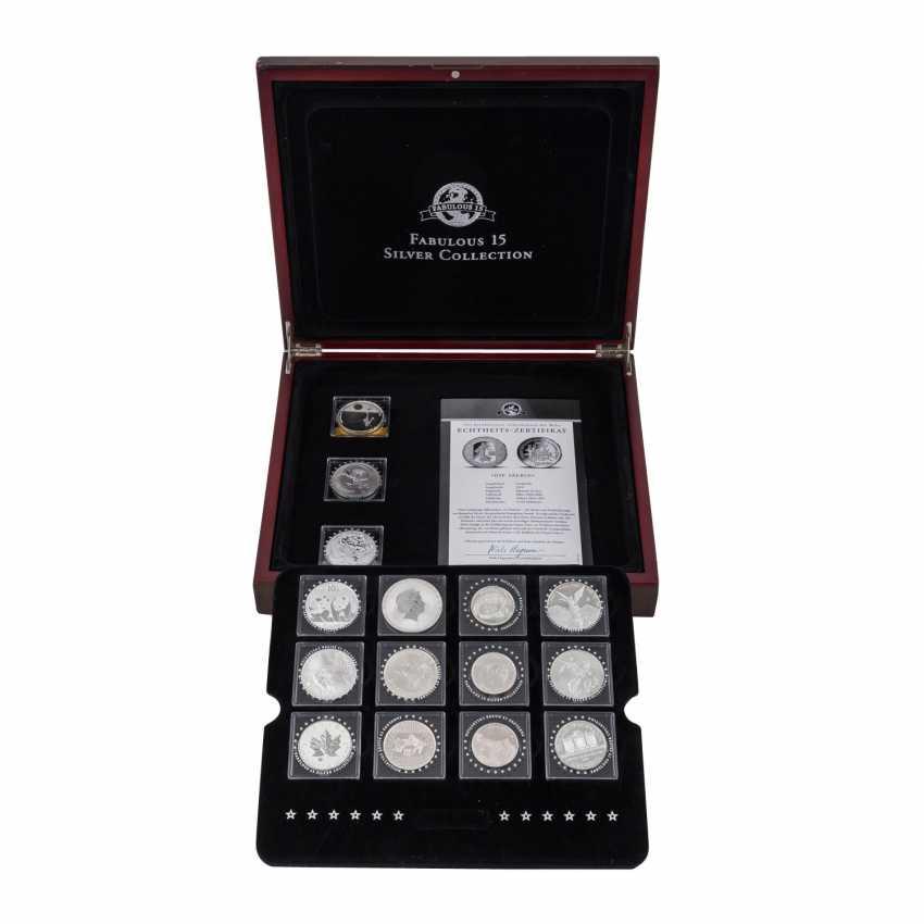 "Beautiful Silver Coins-Set ""Fabulous 15-2010"" - - photo 1"