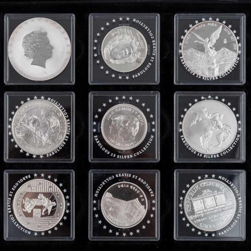 "Beautiful Silver Coins-Set ""Fabulous 15-2010"" - - photo 2"