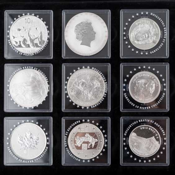 "Beautiful Silver Coins-Set ""Fabulous 15-2010"" - - photo 3"