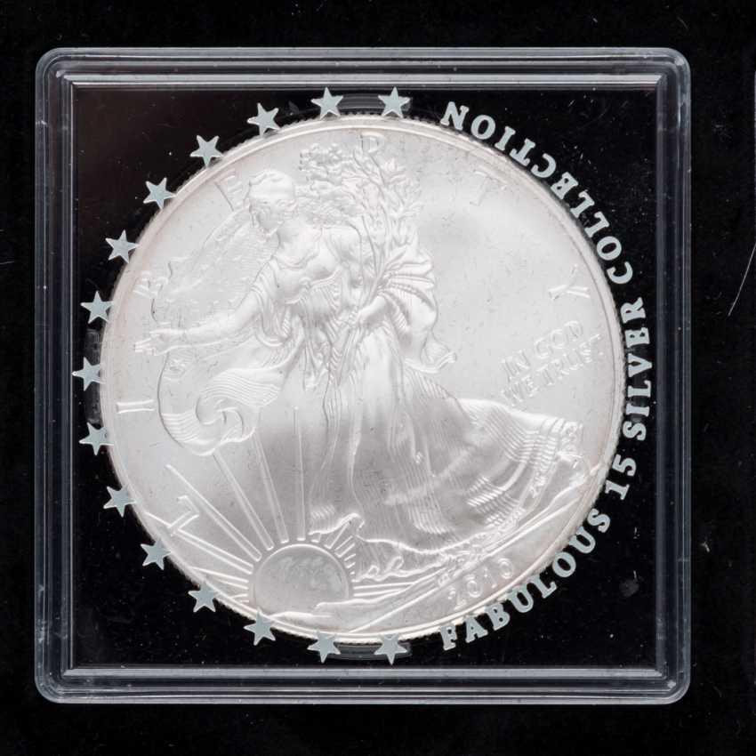 "Beautiful Silver Coins-Set ""Fabulous 15-2010"" - - photo 4"