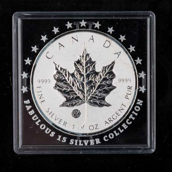 "Beautiful Silver Coins-Set ""Fabulous 15-2010"" - - photo 5"