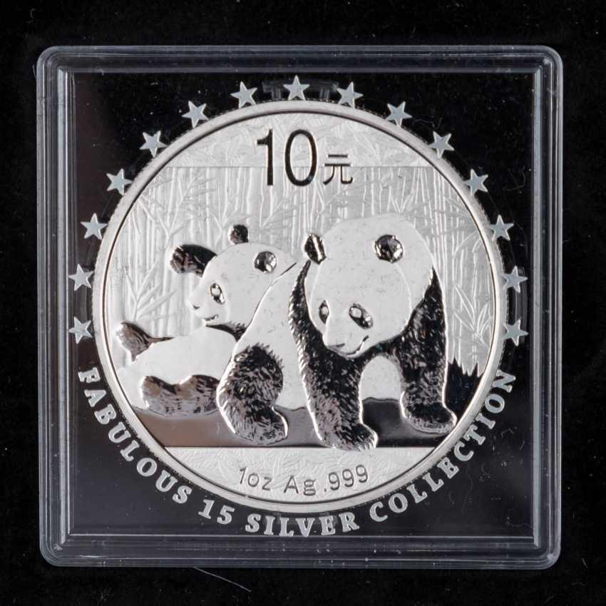 "Beautiful Silver Coins-Set ""Fabulous 15-2010"" - - photo 6"