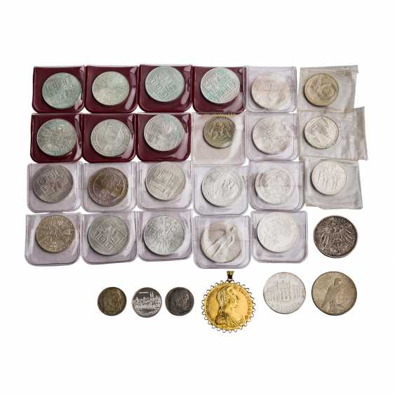 Small silver coin collection - here - photo 1