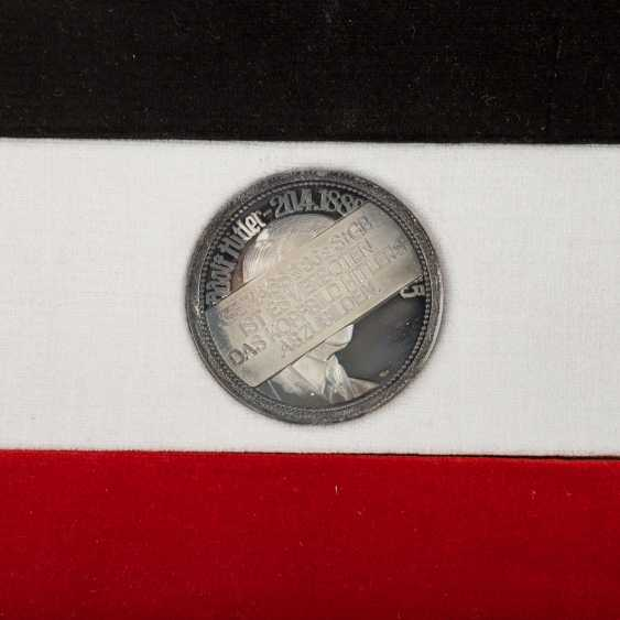 "SILVER commemorative medals Set ""German history in the Portrait of your Registrar"" - - photo 4"