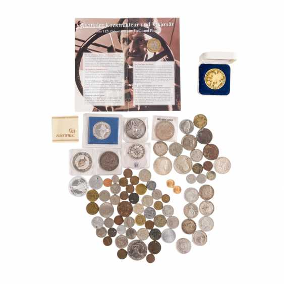 Small collection of coins and medals, in GOLD with - photo 1