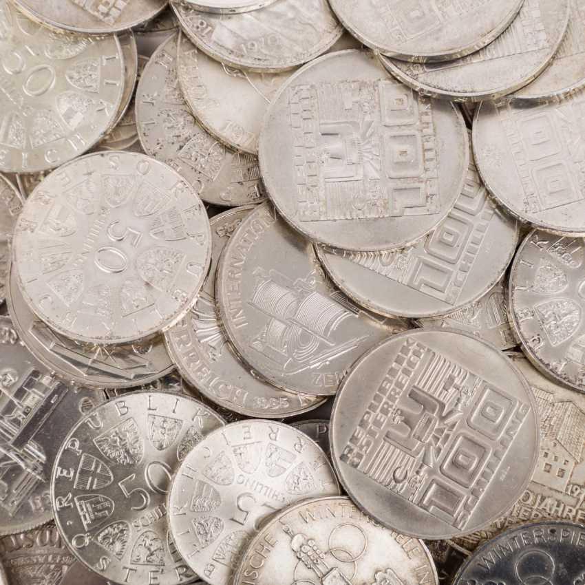 Austria - 23 x 500 shillings, 50 x 100 shilling, - photo 2