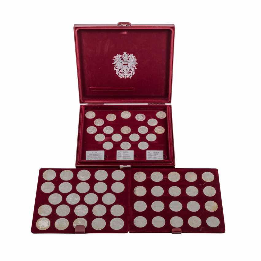 """Austria - casket - """"The silver commemorative coins - photo 1"""