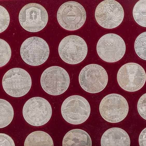 """Austria - casket - """"The silver commemorative coins - photo 3"""